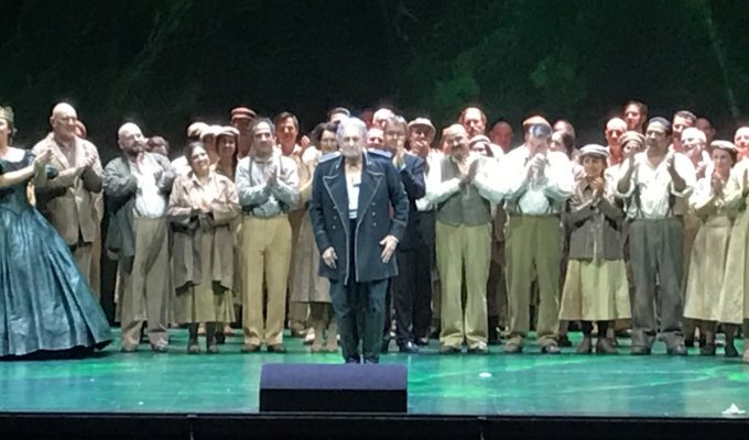 Plácido Domingo - The great old man of opera returns